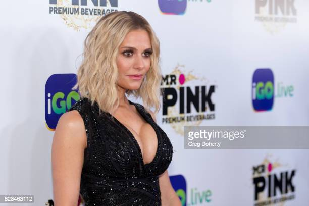 Dorit Kemsley arrives for the iGolive Launch Event at the Beverly Wilshire Four Seasons Hotel on July 26 2017 in Beverly Hills California