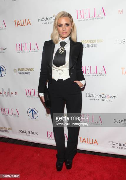 Dorit Kemsley attends Bella Magazine NYFW Kickoff Party at The Attic Rooftop Lounge on September 6 2017 in New York City