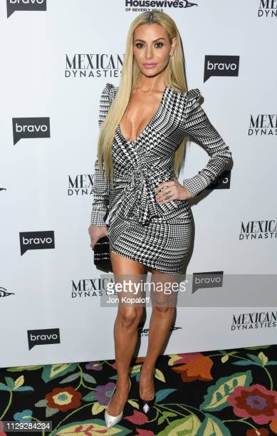 Dorit Kemsley attends Bravo's Premiere Party For The Real Housewives Of Beverly Hills Season 9 And Mexican Dynastiesat Gracias Madre on February 12...