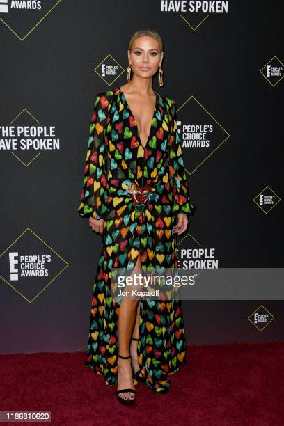 Dorit Kemsley attends the 2019 E People's Choice Awards at Barker Hangar on November 10 2019 in Santa Monica California