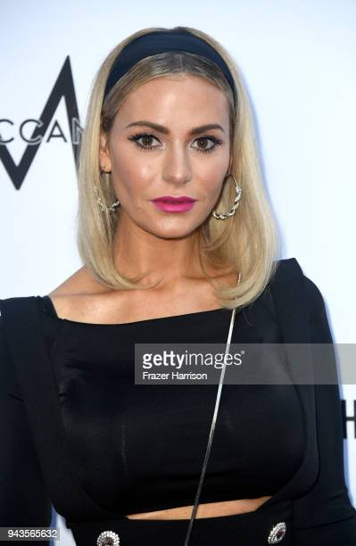 Dorit Kemsley attends The Daily Front Row's 4th Annual Fashion Los Angeles Awards at Beverly Hills Hotel on April 8 2018 in Beverly Hills California