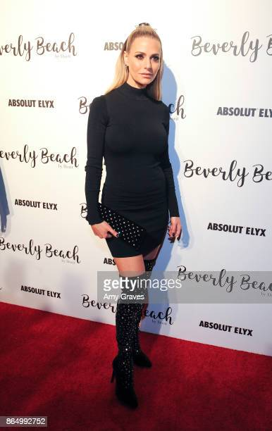 Dorit Kemsley attends the Dorit Kemsley Preview Event For Beverly Beach By Dorit at The Trunk Club on October 21 2017 in Culver City California