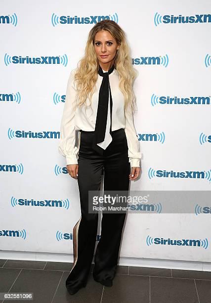 Dorit Kemsley visits at SiriusXM Studios on January 24 2017 in New York City