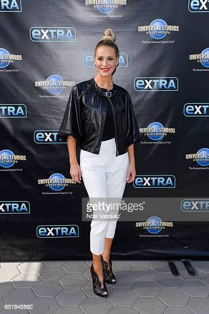 Dorit Kemsley visits Extra at Universal Studios Hollywood on January 17 2017 in Universal City California
