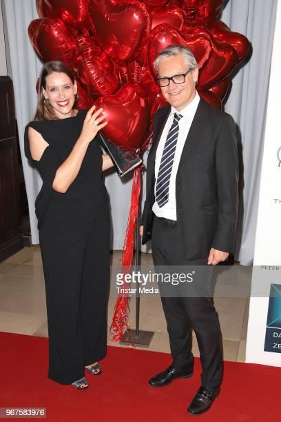 Dorit Otto and Alexander Otto attend the Charity Gala 'Das Herz im Zentrum' on June 4 2018 in Hamburg Germany