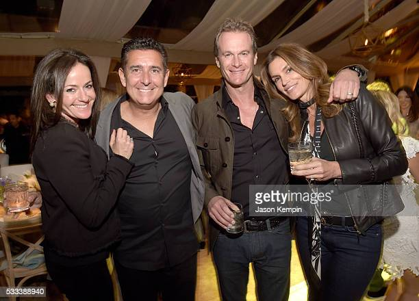 Dorit Rotner Glenn Rotner Casamigos cofounder Rande Gerber and model Cindy Crawford attend The Heart Foundation 20th Anniversary Event honoring...