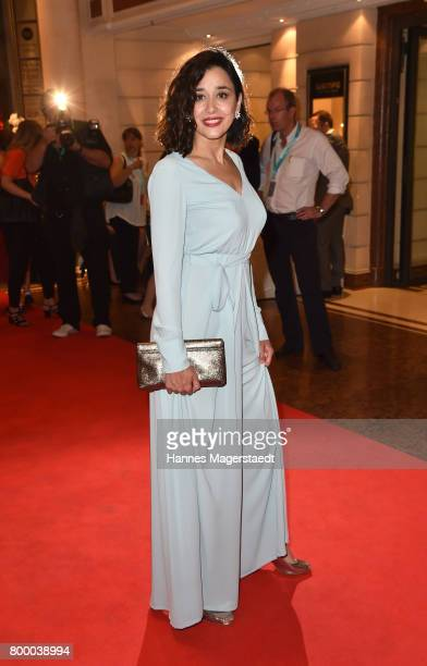 Dorka Gryllus during the opening night of the Munich Film Festival 2017 at Bayerischer Hof on June 22 2017 in Munich Germany