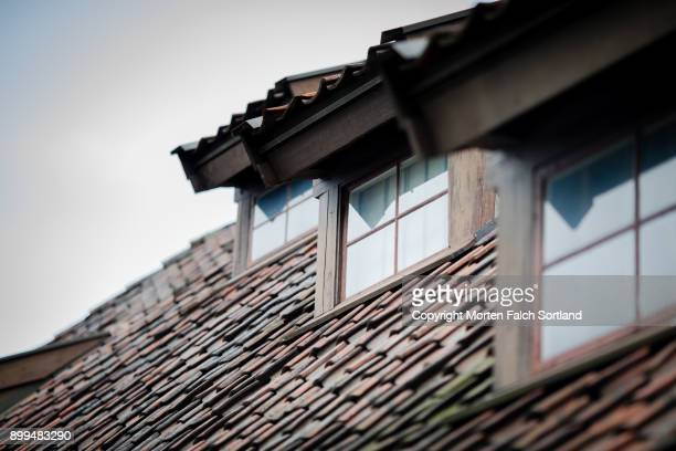 Dormers and slate roof