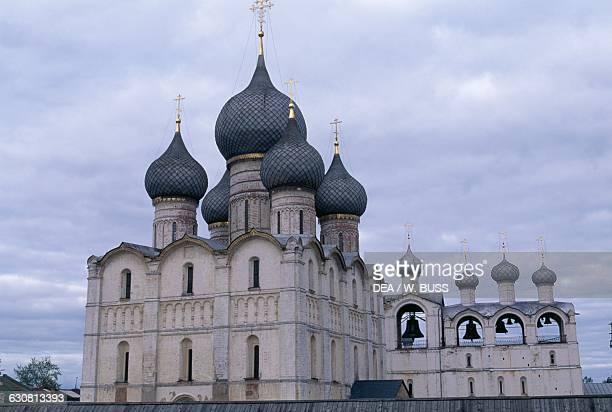 Dormition Cathedral 16701683 Rostov Kremlin RostovVeliky Russia 17th century