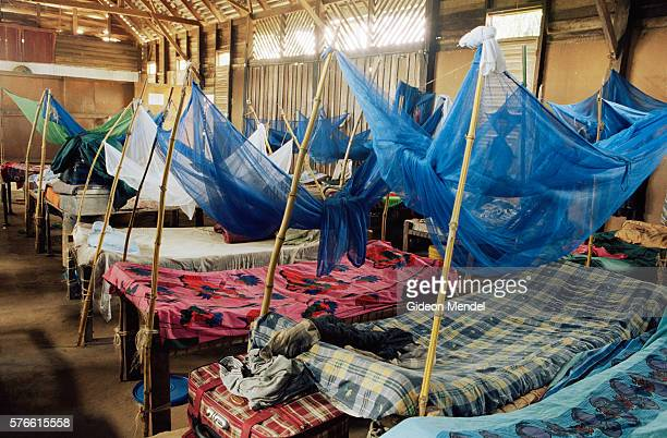 Dormitory at Rondo Junior Seminary with Mosquito Nets for Every Bed