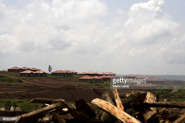 Dorms and offices are visible from the top of the hill of the Agahozo Shalom Youth Village on March 08 2009 in Rwamagana Rwanda The Agahozo Shalom...