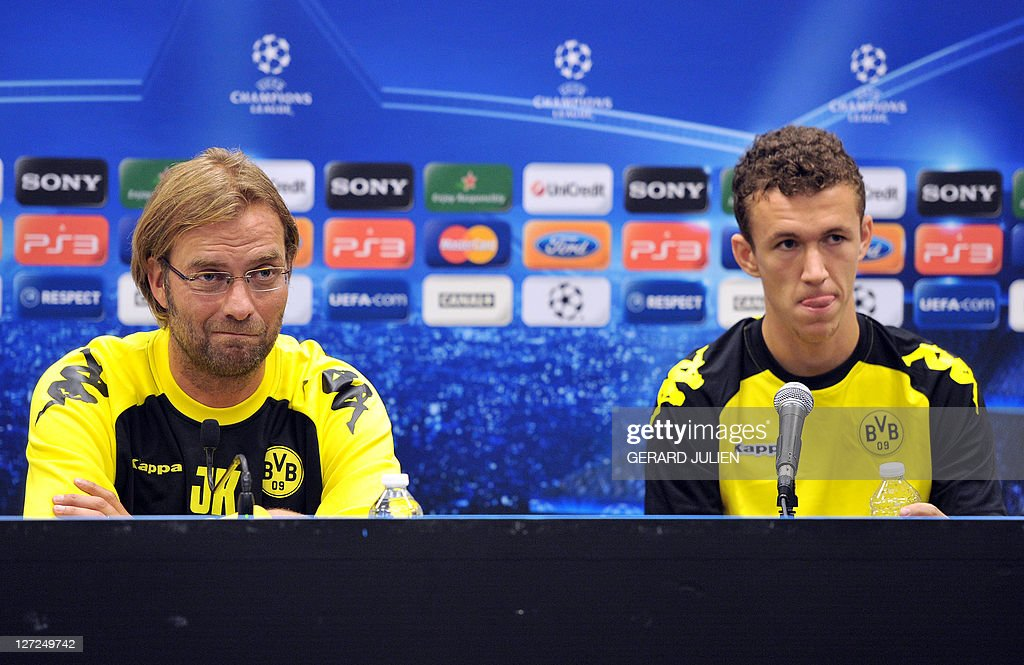 Dormund's German head coach Jurgen Klopp : News Photo