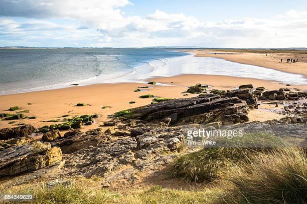 Dornoch coastline, Northern Scotland