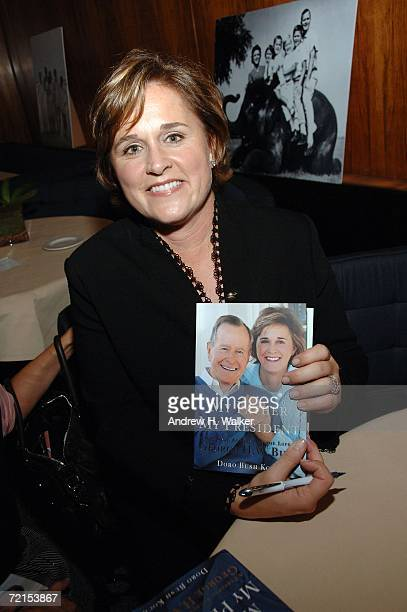 Doro Bush Koch signs copies of her book 'My Father My President' on October 11 2006 in New York City