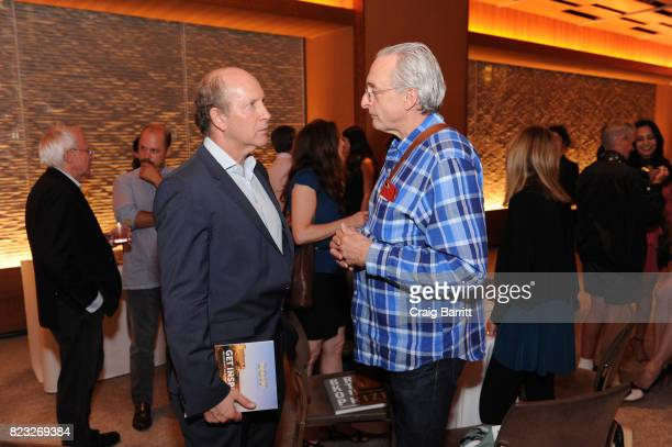 Doron Weber of Sloan Foundation and David Kirkpatrick of Techonomy attends Breakthrough Prize Foundation event honoring photographer Brigitte Lacombe...