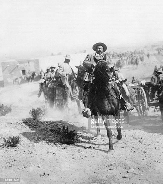 Doroteo Arango Arambula known as Pancho Villa Mexican revolutionary general at Ojinaga January 1914