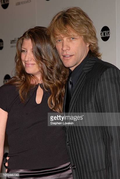 Dorothea Bon Jovi and Jon Bon Jovi during amfAR and ACRIA Honor Herb Ritts with a Sale of Contemporary Artwork at Sotheby's in New York City, New...