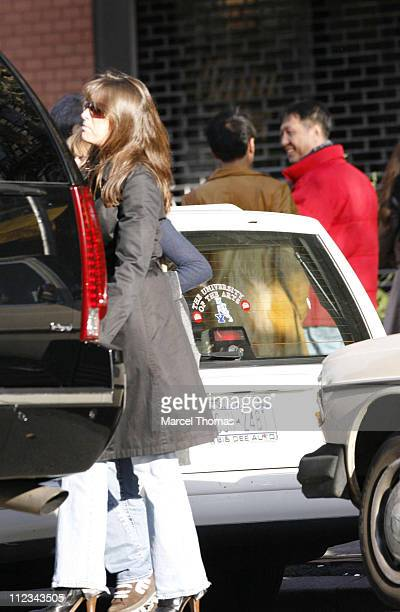 Dorothea Bon Jovi during Jon Bon Jovi Sighted Leaving Bar Pitti Restaurant in New York's West Village November 26 2006 at West Village in New York...