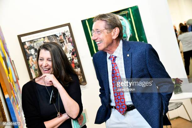 Dorothea Hurley and Joe Namath attend Art New York on May 3 2018 at Pier 94 in New York City