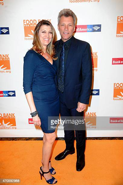 Dorothea Hurley and musician Jon Bon Jovi attend the Food Bank For New York City Can Do Awards Dinner Gala at Cipriani Wall Street on April 21 2015...