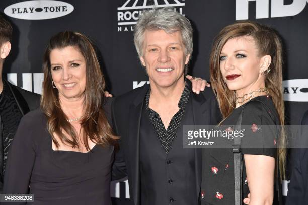 Dorothea Hurley Inductee Jon Bon Jovi and Stephanie Rose Bongiovi attend the 33rd Annual Rock Roll Hall of Fame Induction Ceremony at Public...