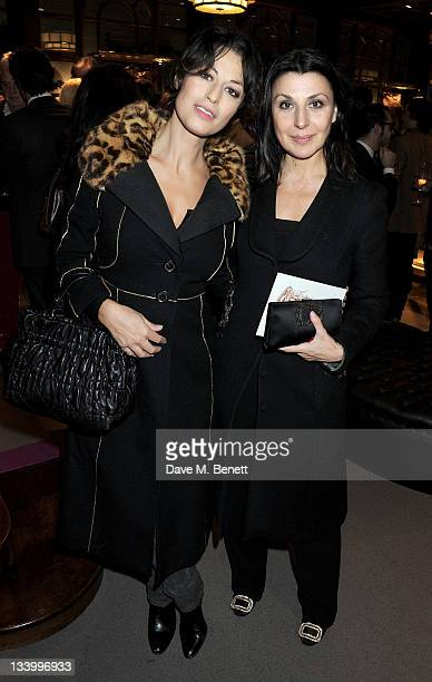 Dorothea Mercouri and Allegra Donn attend a cocktail party hosted by Gimmo Etro and family to celebrate the opening of luxury Italian fashion house...