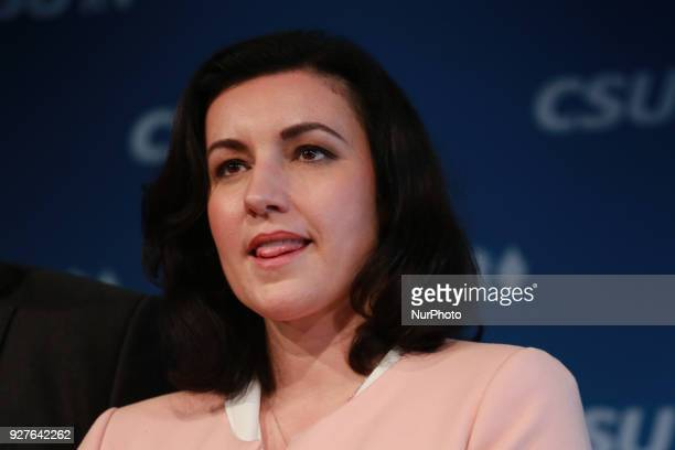 Dorothee Baer The Christian Social Union anounced its new federal ministers the deputy state secretaries and the new secretary general in Munich...