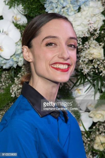 Dorothee Gilbert attends the 16th Sidaction as part of Paris Fashion Week on January 25 2018 in Paris France