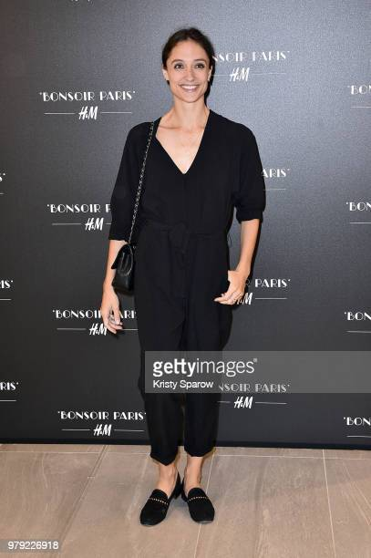 Dorothee Gilbert attends the HM Flagship Opening Party as part of Paris Fashion Week on June 19 2018 in Paris France