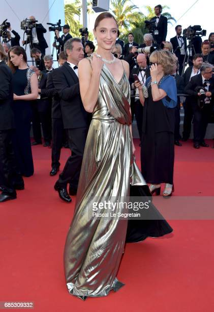Dorothee Gilbert attends the 'Okja' screening during the 70th annual Cannes Film Festival at Palais des Festivals on May 19 2017 in Cannes France