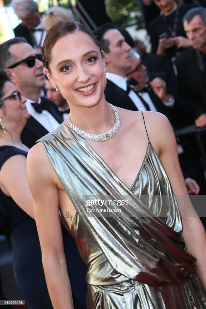 Dorothee Gilbert attends the 'Okja' screening during the 70th annual Cannes Film Festival at Palais des Festivals on May 19, 2017 in Cannes, France.