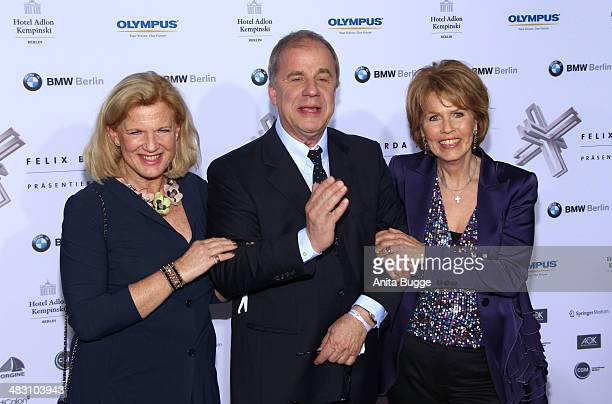 Dorothee Roehrig Hubertus Meyer Burkhard and Christa Maar attend the Felix Burda Award 2014 at Hotel Adlon on April 6 2014 in Berlin Germany
