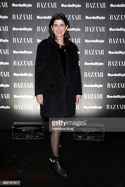 Dorothee Schumacher attends the Burda Style Cocktail on January 16 2014 in Berlin Germany