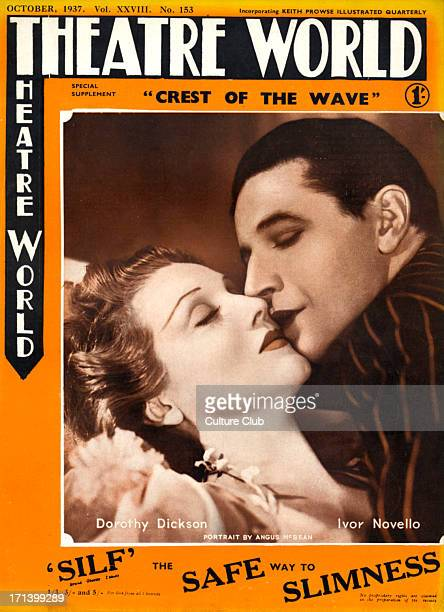 Dorothy Dickson Ivor Novello in the operetta 'Crest of the Wave' performed at the Drury Lane Theatre in 1937 Portrait by Angus McBean DD American...