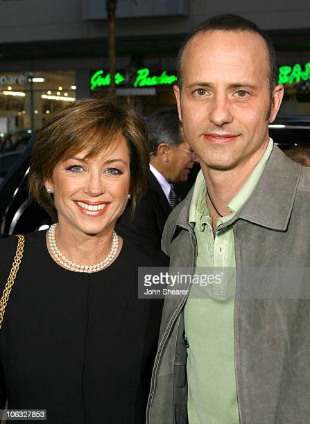 Dorothy Hamill and Brian Boitano during Blades of Glory Los Angeles Premiere Red Carpet at Mann's Chinese Theater in Hollywood California United...