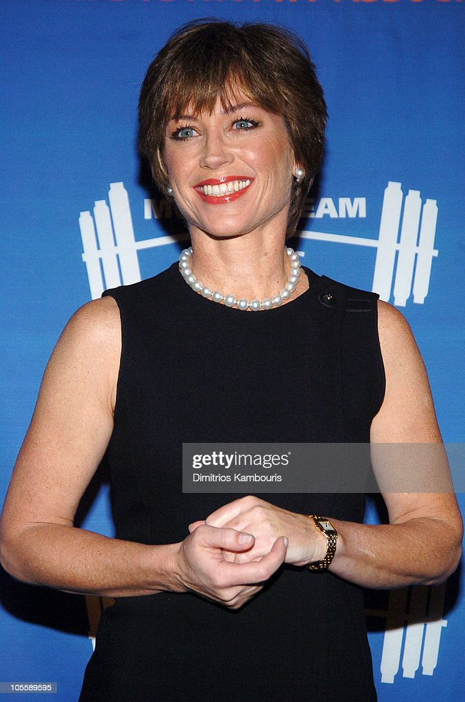 Dorothy Hamill During 8th Annual Muscular Dystrophy Associations Muscle Team 2005 Gala At Chelsea Piers In