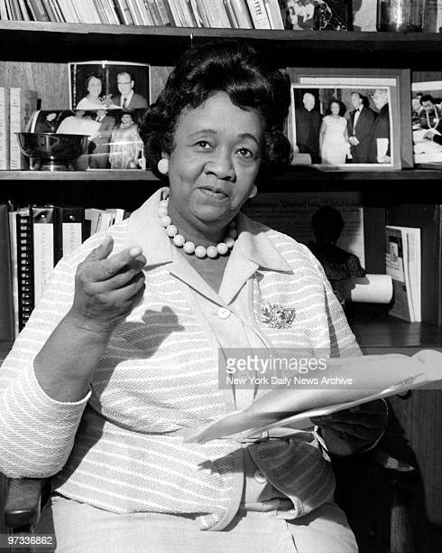 Dorothy Height President of National Council of Negro Women