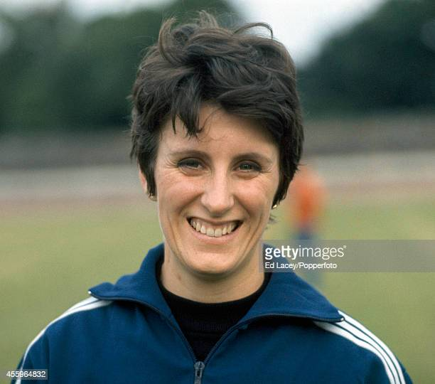 Dorothy Hyman of Great Britain at the Women's Amateur Athletics Association Championships circa 1969