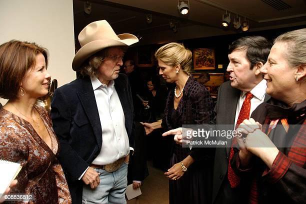 Dorothy Jordan Don Imus Deirdre Imus Hamilton Jordan and Margaret Mikol attend SKIP Fundraiser Silent Auction at Christie's on October 22 2007