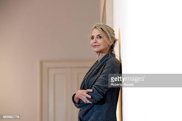 Dorothy Lichtenstein attends a press view of ARTIST ROOM Roy Lichtenstein at the Scottish National Gallery of Modern Art at Scottish National Gallery...