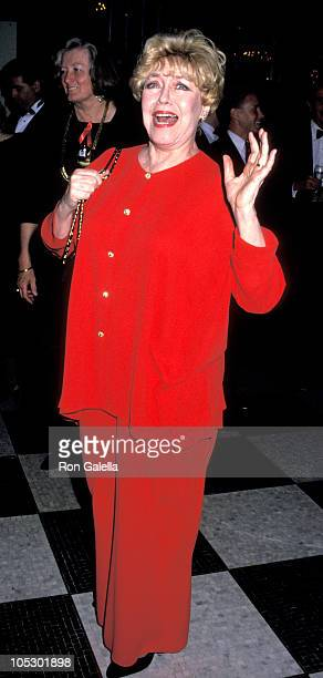 Dorothy Loudon during The Actors' Fund of America Benefit Auction at Waldorf Astoria Hotel in New York City New York United States