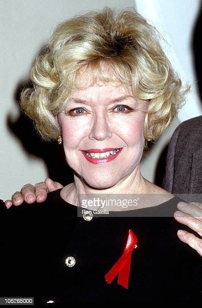 Dorothy Loudon during Theater Hall of Fame inducts new members at 21st annual ceremony at Gershwin Theater in New York City New York United States