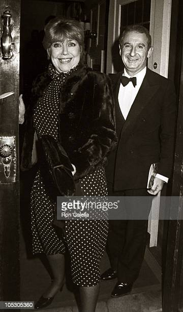 Dorothy Loudon Guest during 84 Charing Cross Road Opening Party at The Players Club in New York City New York United States