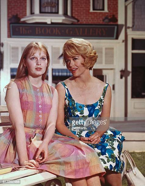 Dorothy Malone as Constance MackenzieCarson the mother of Allison Mackenzie played by Mia Farrow on TV's popular family night time drama Peyton Place