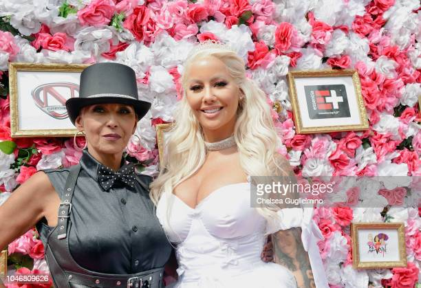 Dorothy Rose and model/actress Amber Rose attend the 4th Annual Amber Rose SlutWalk on October 6 2018 in Los Angeles California