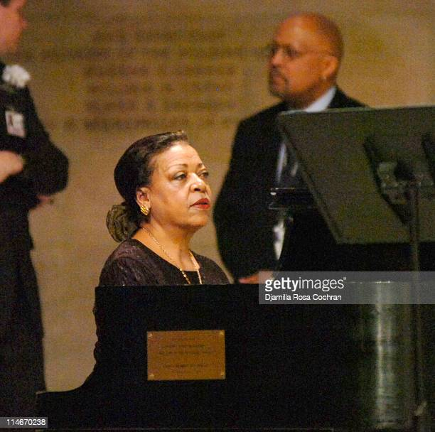 Dorothy Rudd Moore at Riverside Church during the funeral service for Photographer Gordon Parks on March 14 2006 in New York City