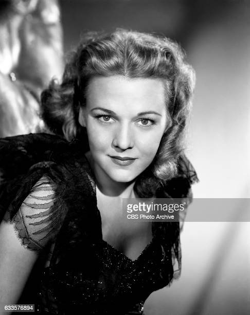 "Dorothy Shay, ""The Park Avenue Hillbilly,"" and co-star of the CBS Radio program, ""The Spike Jones Show,"" poses on September 19, 1947 in New York, NY."