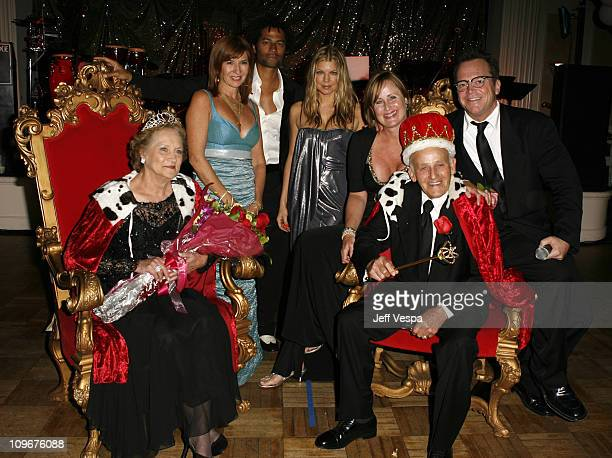Dorothy Stone Nicole Miller Eric Benet Fergie Kelly Stone Joe Stone and Tom Arnold