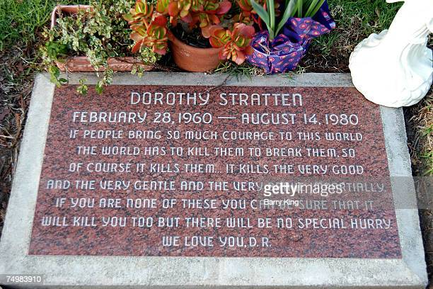 Dorothy Stratten's Grave in Westwood