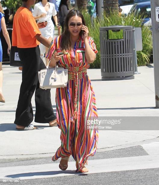 Dorothy Wang is seen on July 12 2018 in Los Angeles CA